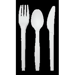 Cuillère en plastique
