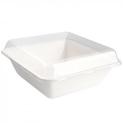 Serviette recyclée blanche 11 x 11 cm