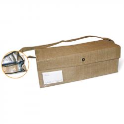 Serviette recyclée naturelle 13.5 x 13.5 cm